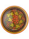 Тарелка-панно Хохлома 500Х20Деревянная тарелка-панно с хохломской росписью.&#13;<br>Размер - 500х20 мм.<br>