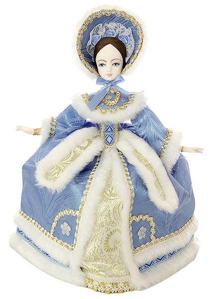 Кукла на чайник София, арт. 41Кукла тряпичная декоративная на заварочный чайник.<br>
