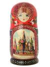 Набор матрешек Москва, арт. 501кНабор из 5 штук.&#13;<br>Высота - 16 см.<br>