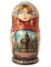 Набор матрешек Москва, арт. 505Набор из 5 штук.&#13;<br>Высота - 16 см.<br>