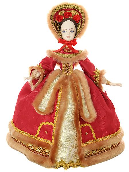 Кукла на чайник Княжна, арт. 40Кукла тряпичная декоративная на заварочный чайник.<br>