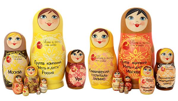 Матрешка Группа компаний Мать и дитя